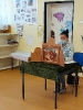 Pierwszoklasiści w bibliotece szkolnej- zajęcia z wykorzystaniem teatru ilustracji kamishibai.